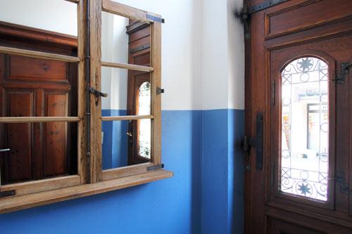 Praxisräume der Hausarztpraxis Horstmar, Eingang