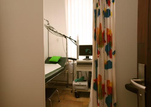 Praxisräume der Hausarztpraxis Horstmar, Behandlungszimmer