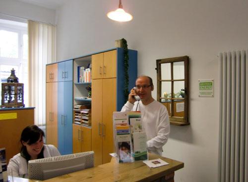 Praxisräume der Hausarztpraxis Horstmar, Dr. Stahl