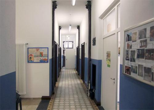 Praxisräume der Hausarztpraxis Horstmar, Flur